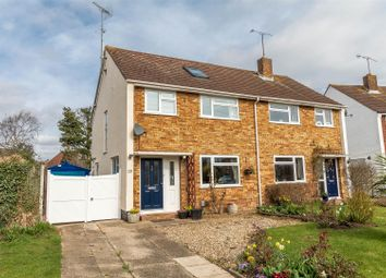 Thumbnail 4 bed semi-detached house for sale in Rowan Drive, Woodley, Reading