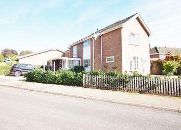 Thumbnail 4 bedroom detached house to rent in Applegarth, Wymondham
