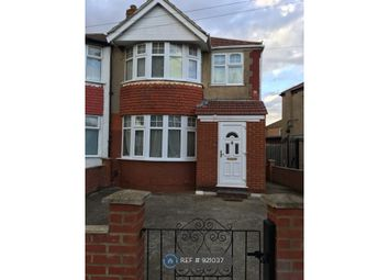 Thumbnail 4 bed end terrace house to rent in Woodhouse Avenue, Perivale, Greenford