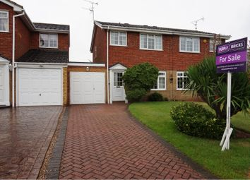 Thumbnail 3 bed semi-detached house for sale in The Meadlands, Wolverhampton