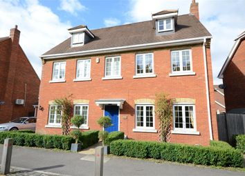 Thumbnail 6 bed detached house to rent in Turgis Road, Fleet