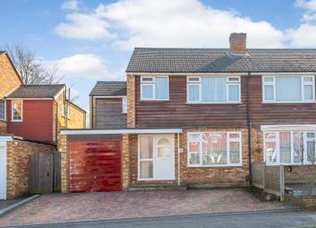 Thumbnail 4 bed semi-detached house for sale in Fletcher Road, Ottershaw Chertsey