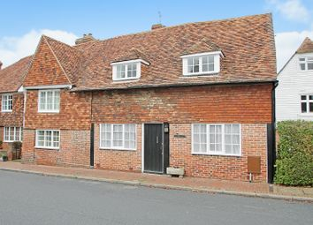 Thumbnail 3 bed semi-detached house for sale in The Street, Sissinghurst, Cranbrook, Kent