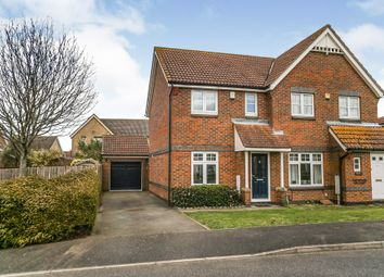 2 bed semi-detached house for sale in Clarke Crescent, Kennington, Ashford TN24