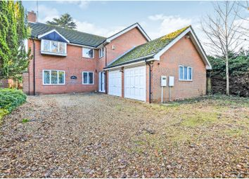 Thumbnail 4 bed detached house for sale in Poyntz Lane, Northampton