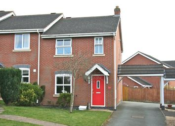 Thumbnail 3 bed terraced house to rent in Cornflower Grove, Ketley, Telford