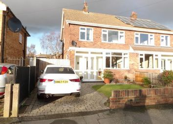 Thumbnail 3 bed semi-detached house for sale in Kirkstone Drive, Loughborough, Leicestershire