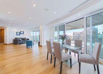 Thumbnail 3 bed flat to rent in 25 Crossharbour Plaza, Canary Wharf, London