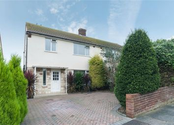 Thumbnail 3 bed semi-detached house for sale in Dane Mount, Margate