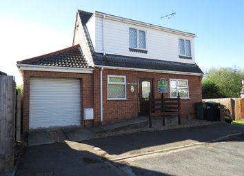 Thumbnail 2 bed detached house for sale in Fairmead Way, Peterborough