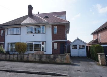 Thumbnail 4 bedroom semi-detached house for sale in Hollies Road, Allestree