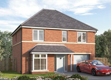 "Thumbnail 4 bed detached house for sale in ""The Rosebury"" at Manston Lane, Crossgates"