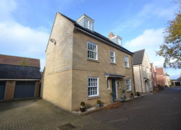 Thumbnail 5 bed detached house for sale in Upgate, Long Stratton, Norwich