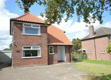 Thumbnail 3 bed detached house for sale in Wroxham Road, Sprowston, Norwich