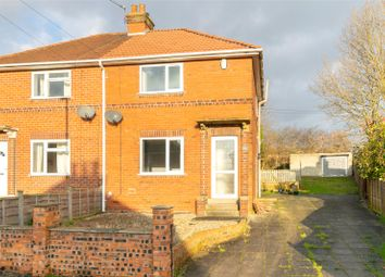 Thumbnail 2 bed semi-detached house for sale in Oak Avenue, Garforth, Leeds, West Yorkshire