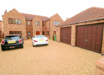 Thumbnail 5 bedroom detached house for sale in North Street, West Butterwick, Scunthorpe