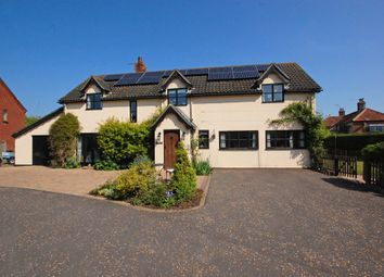 Thumbnail 4 bedroom detached house for sale in Fuller's Close, Toft Monks, Beccles