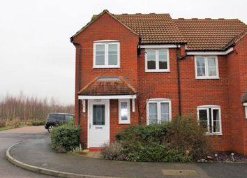 Thumbnail 3 bed semi-detached house to rent in Pedley Way, Putnoe