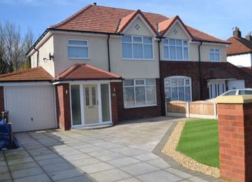 Thumbnail 4 bed semi-detached house to rent in Radnor Drive, Southport