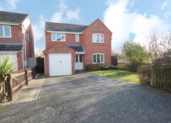 Thumbnail 4 bed detached house for sale in Wroe Close, Great Oakley, Corby