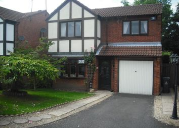 Thumbnail 4 bed detached house to rent in Woodbridge Close, Bloxwich, Walsall