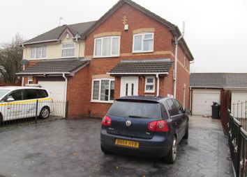 Thumbnail 3 bed semi-detached house for sale in Peake Drive, Dudley. Tipton
