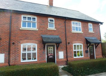 Thumbnail 3 bed terraced house for sale in Cheshires Way, Saighton, Chester