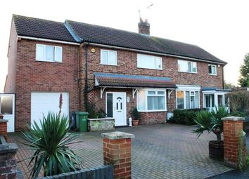 4 bed semi-detached house for sale in Gildenburgh Avenue, Peterborough, Cambridgeshire PE1