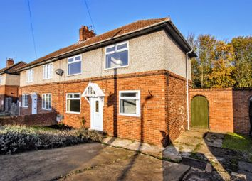 Thumbnail 3 bed semi-detached house for sale in Mansfield Crescent, Armthorpe, Doncaster