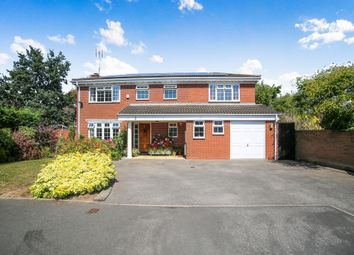 Thumbnail 6 bed detached house for sale in Wheatley Close, Solihull