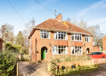 Thumbnail 3 bed semi-detached house for sale in Locks Lane, Wantage