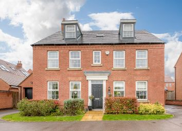 Thumbnail 5 bed detached house for sale in Jubilee Way, Burbage, Hinckley