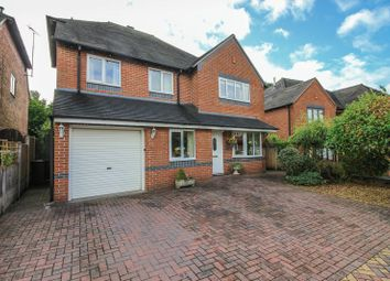 Thumbnail 4 bed detached house for sale in Sapling Rise, Tean, Staffordshire