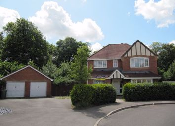 Thumbnail 4 bed detached house for sale in Wentworth Crescent, Beggarwood, Basingstoke
