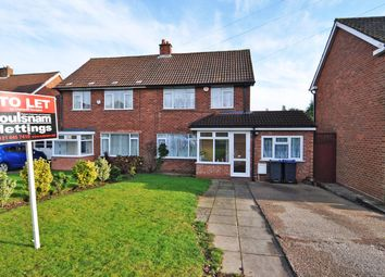 Thumbnail 3 bed semi-detached house to rent in Swarthmore Road, Selly Oak, Birmingham