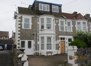 Thumbnail 1 bed flat to rent in Sandford Road, Weston-Super-Mare