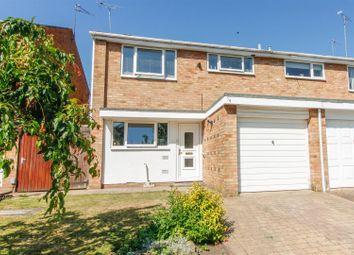 Thumbnail 3 bed semi-detached house for sale in Mullard Drive, Whitnash, Leamington Spa