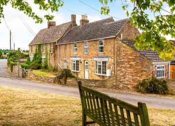 Thumbnail 3 bed end terrace house for sale in High Street, Great Paxton, St. Neots