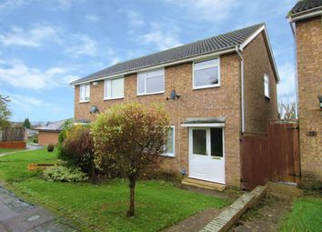 Thumbnail 3 bed semi-detached house for sale in Cornwallis Close, Bromham