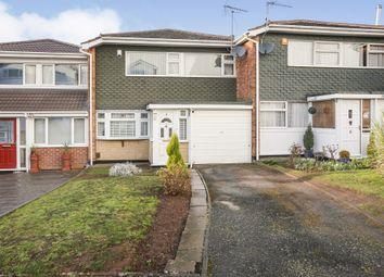 Thumbnail 3 bed terraced house for sale in Halfcot Avenue, Pedmore, Stourbridge