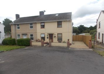 Thumbnail 4 bed semi-detached house for sale in Tyle Teg, Burry Port