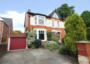 Thumbnail 4 bed semi-detached house for sale in Derby Road, Urmston, Manchester