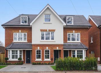 Thumbnail 3 bed end terrace house for sale in Westcar Lane, Hersham, Walton