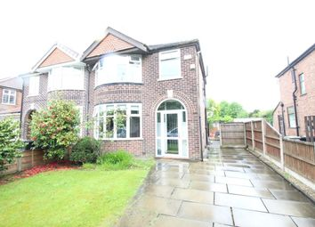Thumbnail 3 bed semi-detached house to rent in Moss Vale Road, Urmston, Manchester