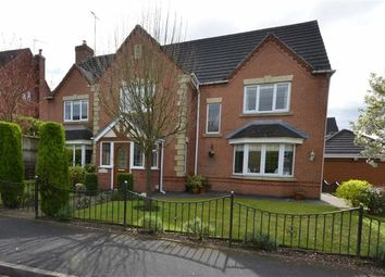Thumbnail 5 bed detached house for sale in The Meadows, Hilderstone, Stone