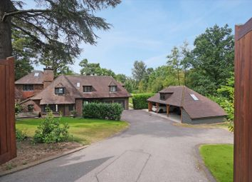 Thumbnail 5 bed detached house for sale in Yaffle Road, St. Georges Hill, Weybridge