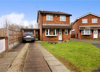 Thumbnail 3 bed detached house for sale in Chelker Way, Loughborough