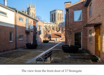 Thumbnail 1 bed flat for sale in Stonegate Court, Blake Street, York