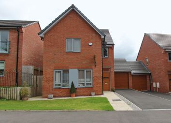 Thumbnail 4 bed link-detached house for sale in Greene Way, Salford, Manchester