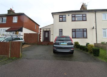 Thumbnail 3 bed semi-detached house to rent in Church Green, Rochester